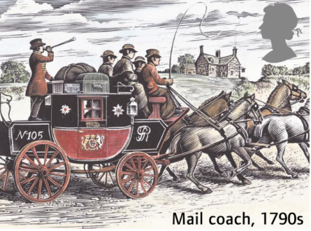 Mail Coach 1790s