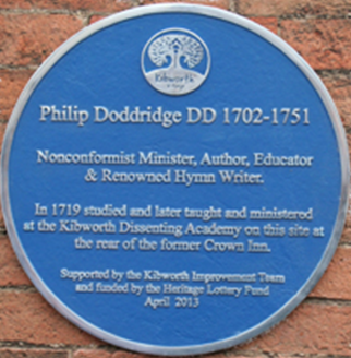 Philip Doddridge Plaque