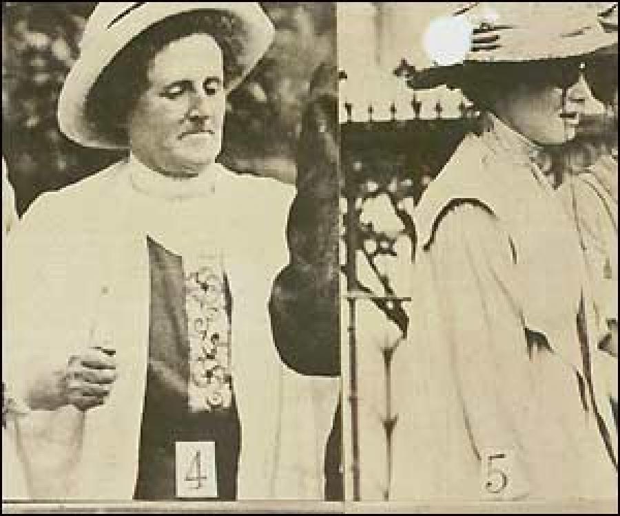 #Nellie Taylor (No. 4, alias Mary Wyan) Surveillance Photo, 1913